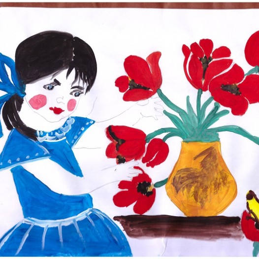 8 марта – мамин праздник