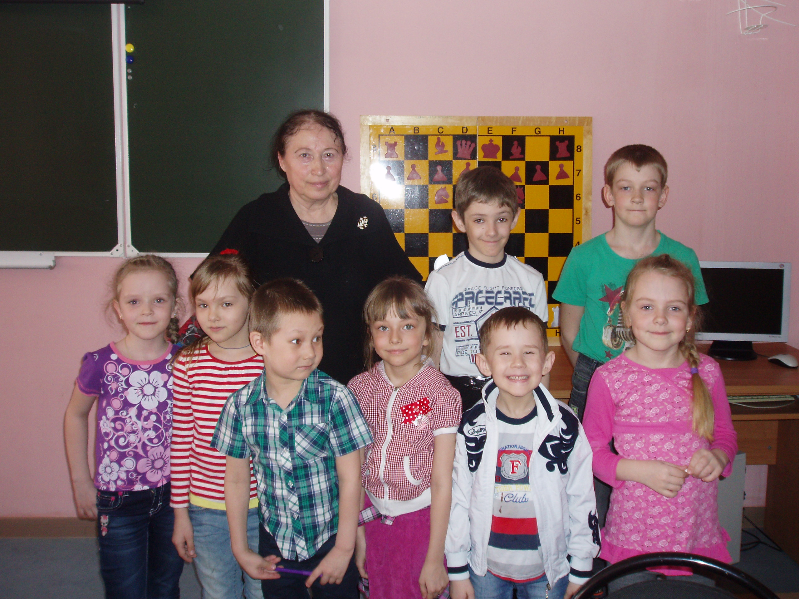 Турнир семейных команд по шахматам