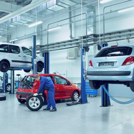 Ремонт и обслуживание легковых автомобилей